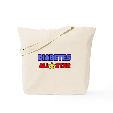 """Diabetes All Star"" Tote Bag"