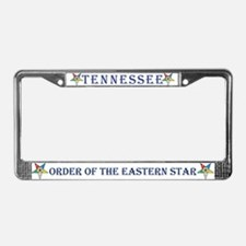 Tennessee OES License Plate Frame