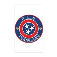 Tennessee OES Rectangle Decal