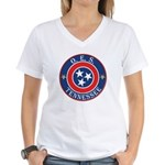 Tennessee OES Women's V-Neck T-Shirt