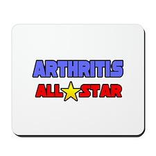 """Arthritis All Star"" Mousepad"