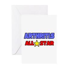 """Arthritis All Star"" Greeting Card"
