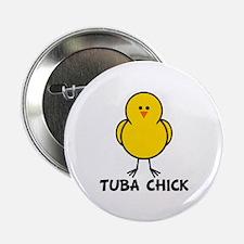"Tuba Chick 2.25"" Button"