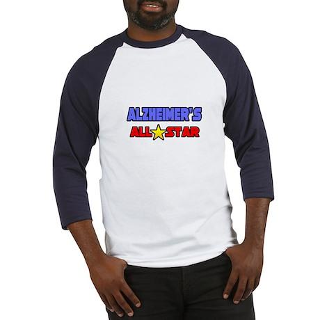 """""""Alzheimer's All Star"""" Baseball Jersey"""
