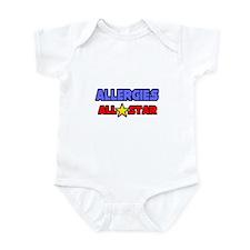 """Allergies All Star"" Infant Bodysuit"