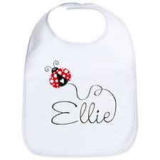 Ladybug Ellie Bib
