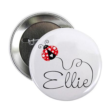 """Ladybug Ellie 2.25"""" Button (10 pack)"""