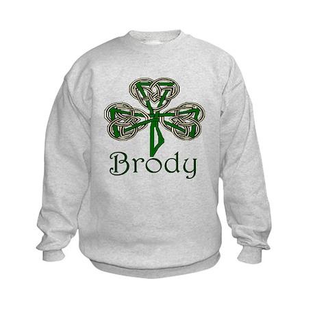 Brody Shamrock Kids Sweatshirt