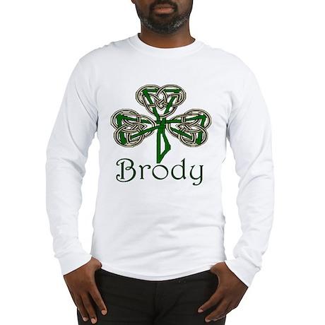 Brody Shamrock Long Sleeve T-Shirt