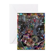 Cool Fat tuesday Greeting Card