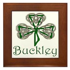 Buckley Shamrock Framed Tile