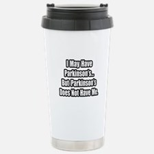 """Parkinson's Quote"" Travel Mug"