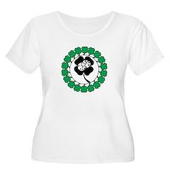 Lucky Green Clover T-Shirt