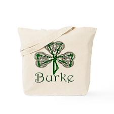 Burke Shamrock Tote Bag
