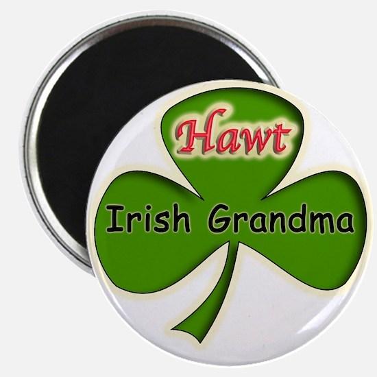 "Hawt Irish Grandma 2.25"" Magnet (10 pack)"