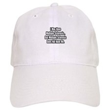 """Multiple Sclerosis Quote"" Baseball Cap"