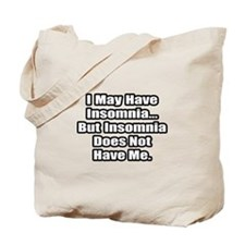 """Insomnia Inspiration"" Tote Bag"