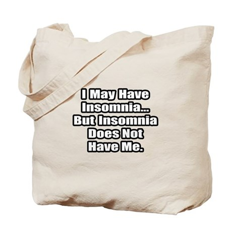 """Insomnia Inspiration"" Tote Bag"