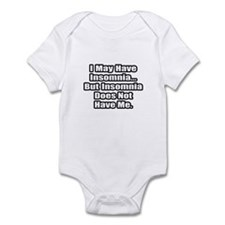 """Insomnia Inspiration"" Infant Bodysuit"