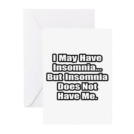 """""""Insomnia Inspiration"""" Greeting Cards (Pk of 10)"""