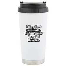 """Insomnia Inspiration"" Travel Coffee Mug"