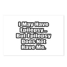 """Epilepsy Does Not Have Me"" Postcards (Package of"