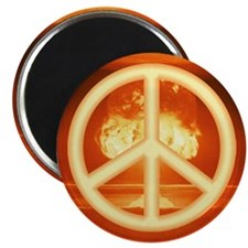 Peace Buttons Magnet