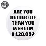 "Better Off? 3.5"" Button (10 pack)"