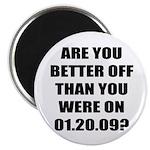 "Better Off? 2.25"" Magnet (100 pack)"