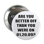 "Better Off? 2.25"" Button (100 pack)"