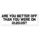 Better Off? Bumper Sticker (10 pk)