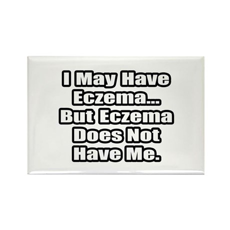 """Eczema Fighter Quote"" Rectangle Magnet (10 pack)"