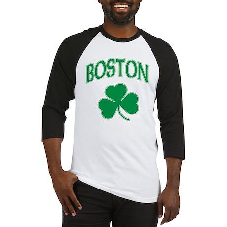 Boston Irish Shamrock Baseball Jersey