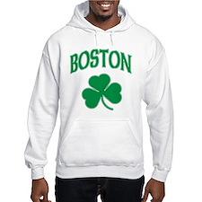 Boston Irish Shamrock Jumper Hoody
