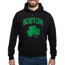 Boston Irish Shamrock Hoodie
