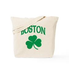 Boston Irish Shamrock Tote Bag