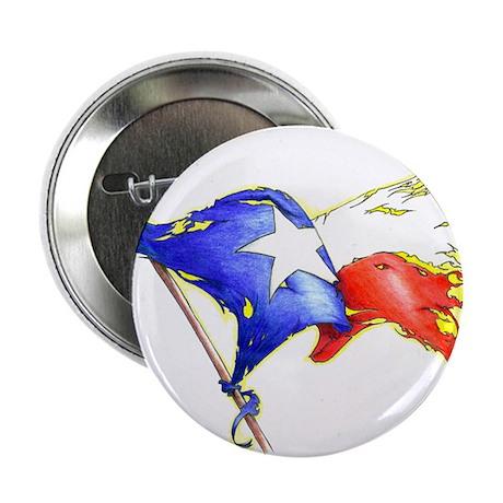 "Texas Battle Flag 2.25"" Button"