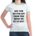Better Off? Jr. Ringer T-Shirt