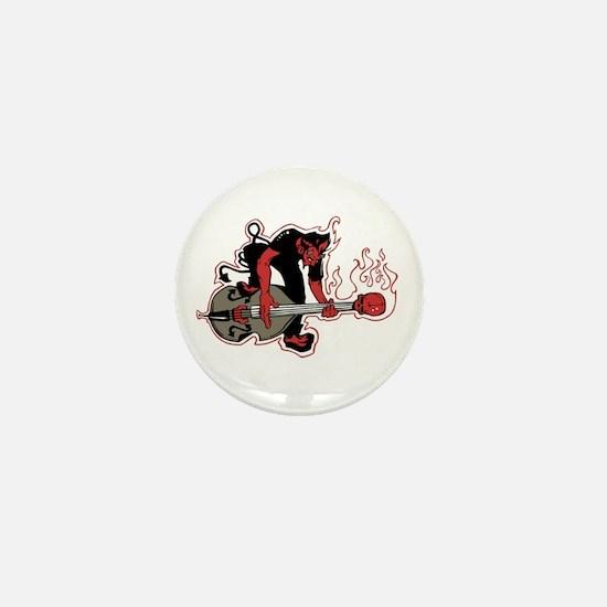 Rockabilly Mini Button