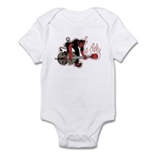 Rockabilly Infant Bodysuit