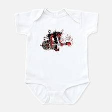 Rockabilly Infant Bodysuit