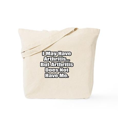"""Arthritis Fighter Quote"" Tote Bag"