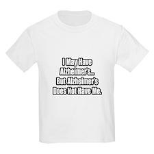"""Alzheimer's Fighter Quote"" T-Shirt"