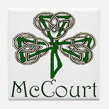 McCourt Shamrock Tile Coaster