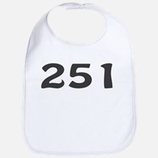 251 Area Code Bib
