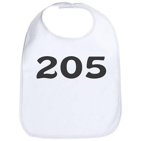 205 Area Code Bib