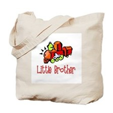Little Brother Train Tote Bag