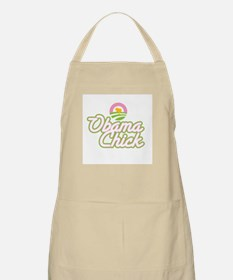 Obama Chick (chick in logo) BBQ Apron
