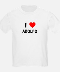 I LOVE ADOLFO Kids T-Shirt