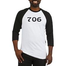 706 Area Code Baseball Jersey